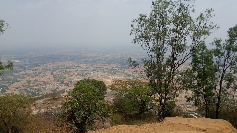 top view Nandi Hills