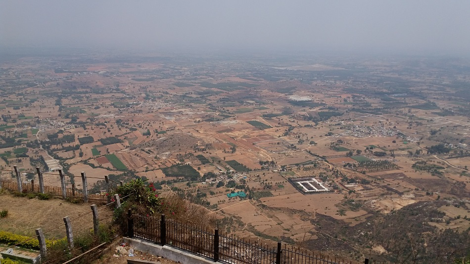 Top view from Nandi Hills