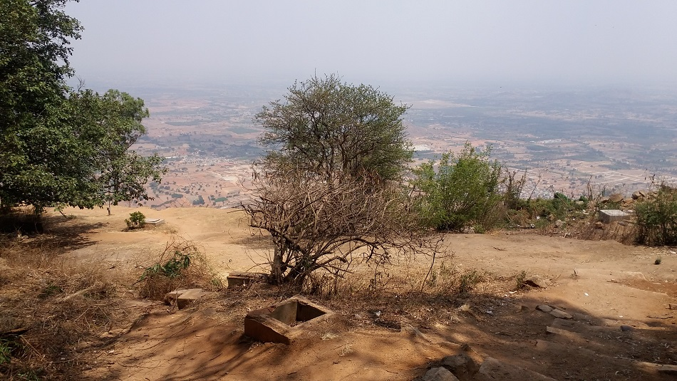 Nandi Hills top view