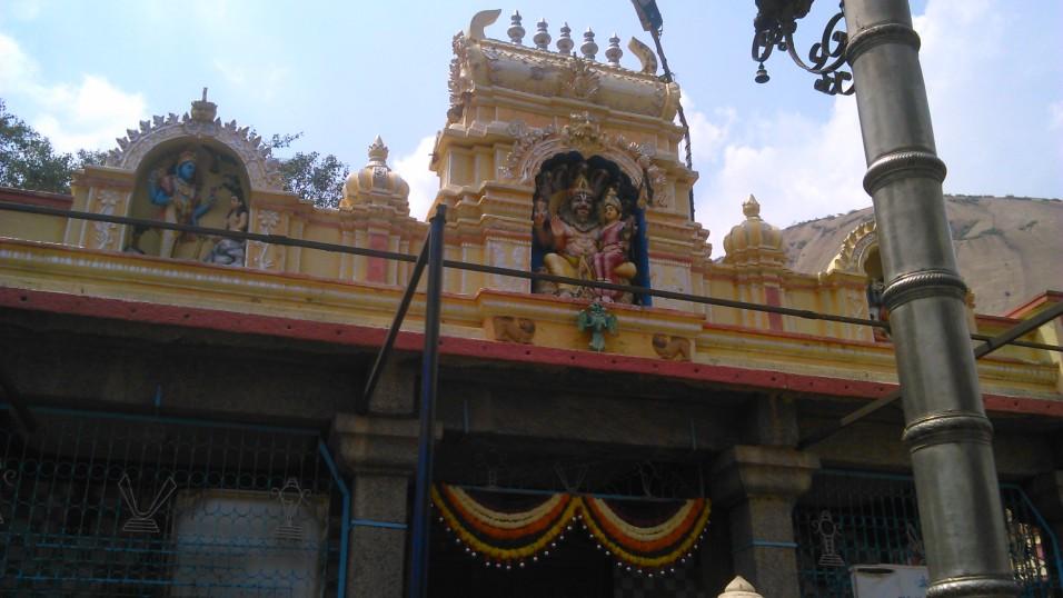 temple at Savandurga hills