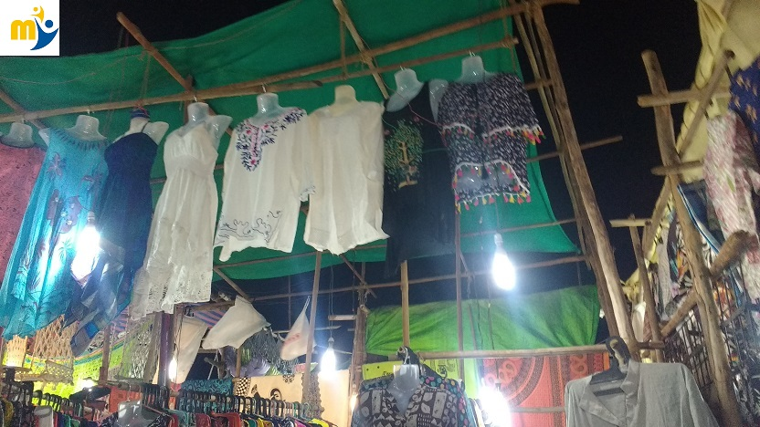 a flea market in goa
