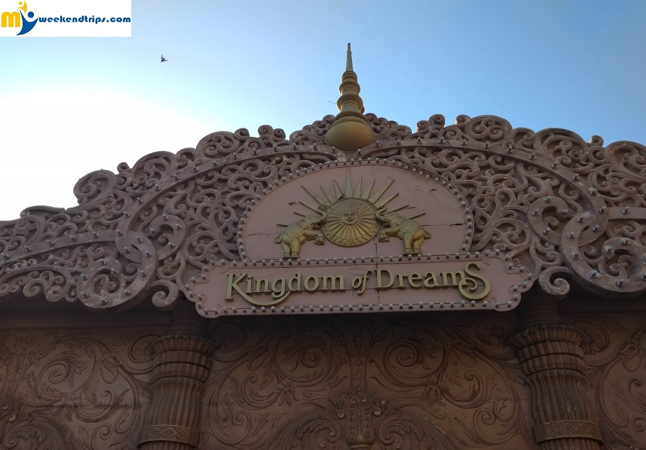 An evening at Kingdom of dreams – Gurgaon