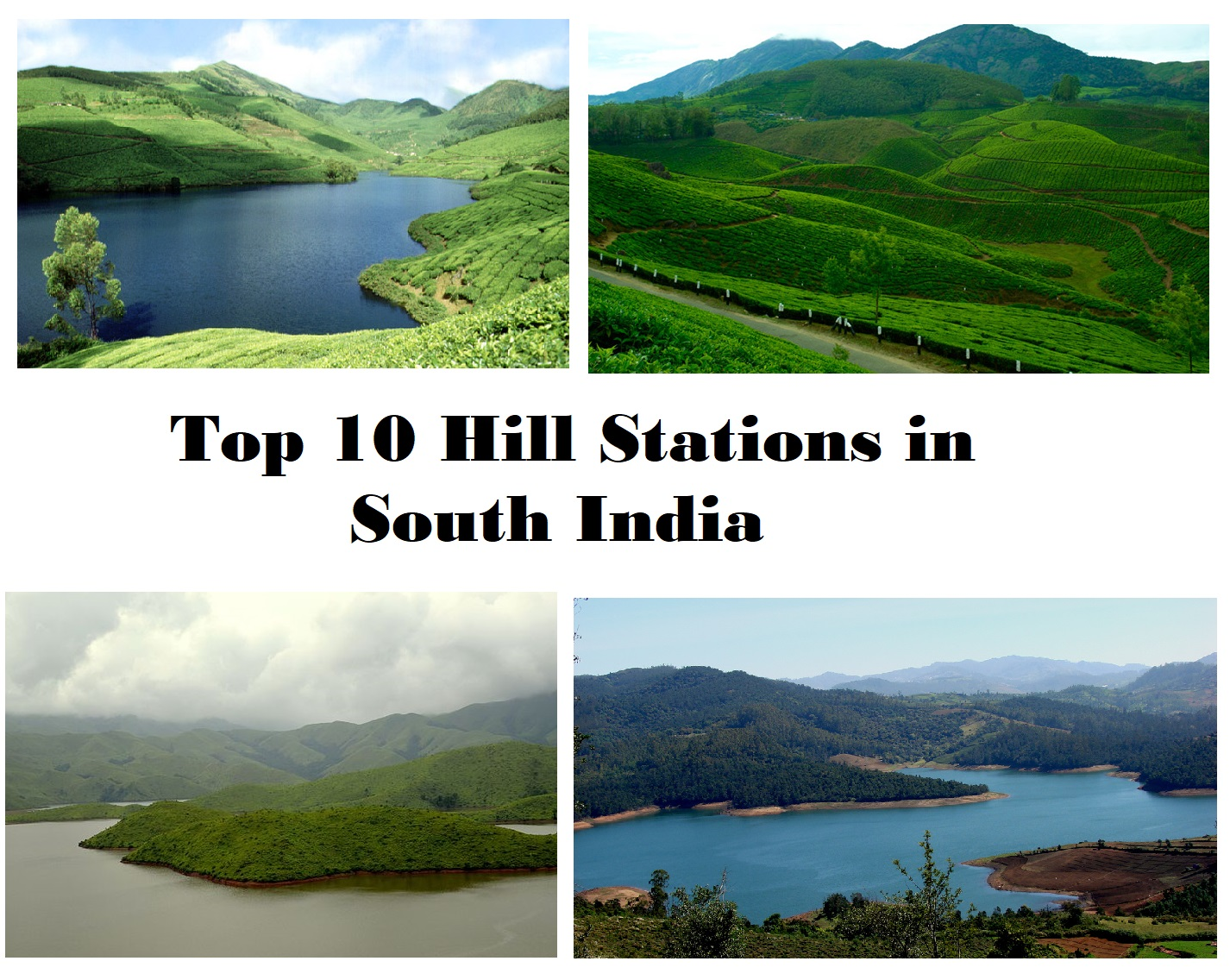 top 10 hill stations in south india