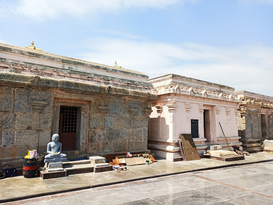 Jain temple at Mandargiri Hills