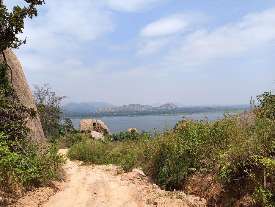 Mandargiri Hills Trek lake