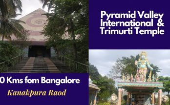 Pyramid valley international and Trimurti temple
