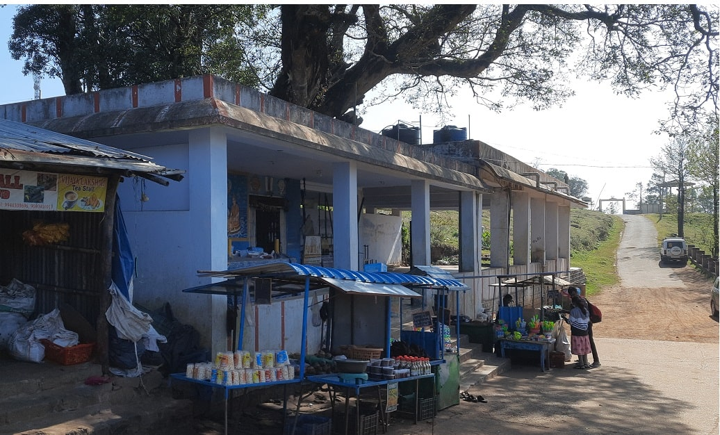 Servarayan Temple (Shevaroy Temple) side view